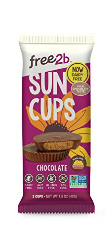 Sun Cups Candy, Milk Chocolate, 1.5 Ounce (Pack of 12)