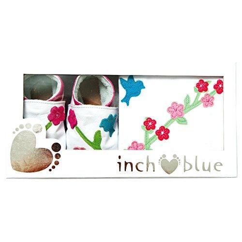 Inch Blue - Patucos para niño Blanco blanco