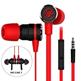 OLSUS Bass Stereo Sports In-Ear Earphone 3.5mm Wired Super Bass Noise Cancelling Headset