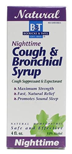 Cough & Bronchial Syrup-Nighttime Boericke & Tafel 4 oz Liquid