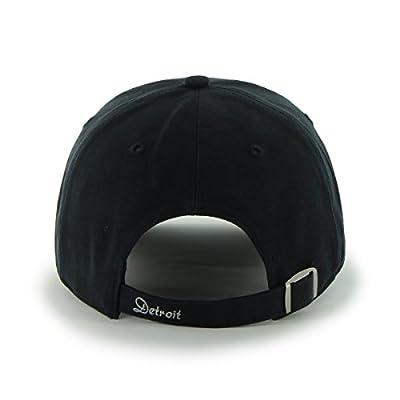 MLB Detroit Tigers Sparkle Adjustable Hat, Womens, Navy
