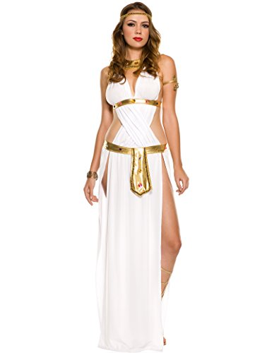 Sexy Goddess Costumes (White Sexy Goddess Adult Costume - X-Small)