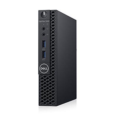Dell OP3060MFFXKF5K OptiPlex 3060 XKF5K Micro PC with Intel Core i5-8500T 2.1 GHz Hexa-core, 8GB RAM, 256GB SSD, Windows 10 Pro 64-bit