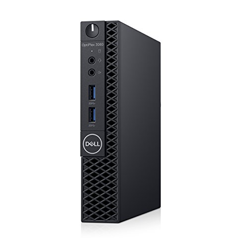 Dell OP3060MFFXKF5K OptiPlex 3060 XKF5K Micro PC with Intel Core i5-8500T 2.1 GHz Hexa-core, 8GB RAM, 256GB SSD, Windows 10 Pro 64-bit by Dell (Image #1)