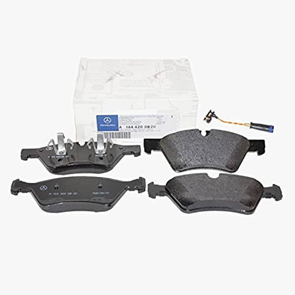 Genuine For Mercedes W164 ML350 ML320 ML450 ML500 Front Brake Pad Set w// Sensor