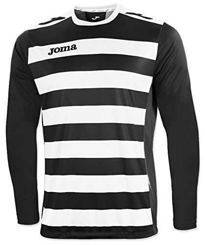 JOMA EUROPA II BLACK-WHITE L/S T-SHIRT 00-0