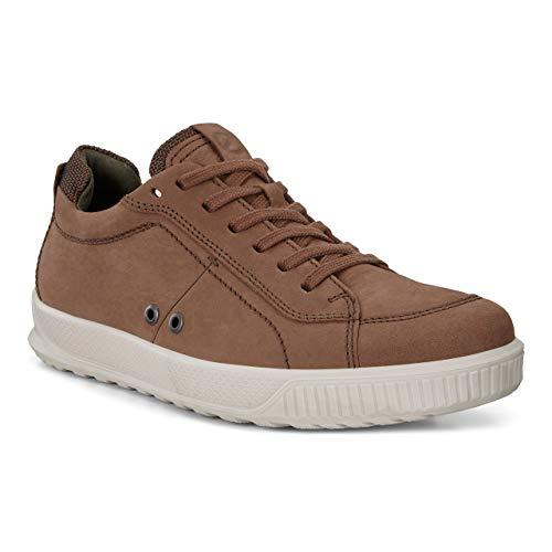 (ECCO Men's Byway Sneaker Cocoa Brown Nubuck 46 M EU (12-12.5 US))