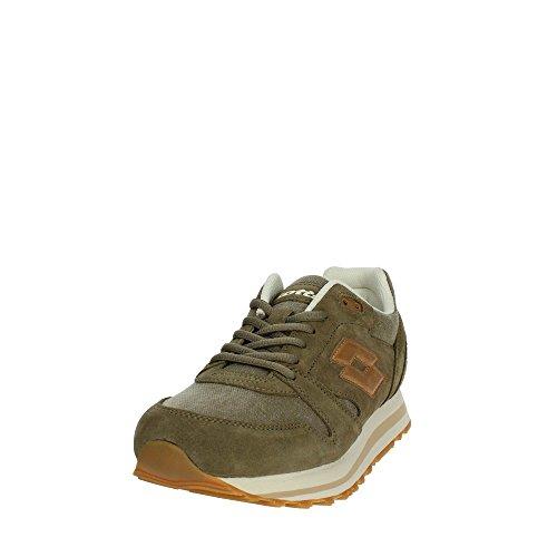 Lotto Men's Trainer Xi CVS Fitness Shoes Green (Olive/Bge Tan 020) q85yVyVdA9