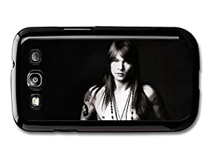 AMAF ? Accessories Axl Rose Black and White Portrait Guns and Roses case for Samsung Galaxy S3