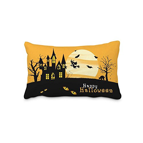 20x30inch(2 Sides)Festival Halloween Pillow Case Pillow Cover Decorations Home