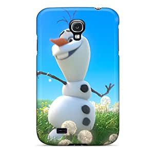 Durable Hard Phone Cover For Samsung Galaxy S4 With Provide Private Custom Fashion Olaf With Spring Pattern AlissaDubois