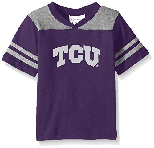 NCAA Tcu Horned Frogs Toddler Boys Football Shirt, Purple, 3