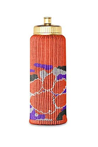 FREAKER Fits Every Bottle Can Beverage Insulator, Stops Bottle Sweat, NCAA Collegiate College Clemson University Tigers Camo Camouflage