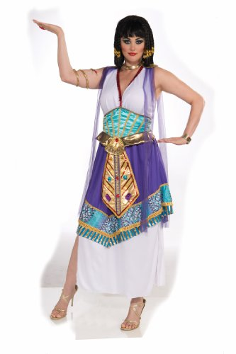 Ancient History Costume (Forum Novelties Women's Plus-Size Queen Cleopatra Costume, Multi, Plus)