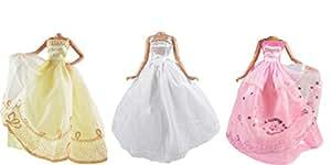 ADM 1003 - Vestidos de novias: Cinderella (Set de 3, sin muñecas)