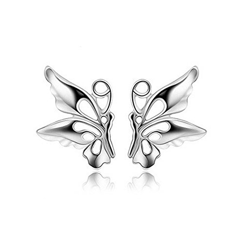 LANMPU Butterfly Shape Stud Earrings for - Sunglasses Australian Online