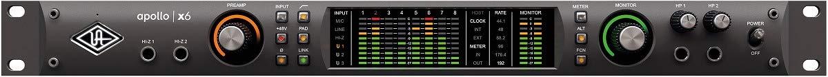 正規店仕入れの Universal Audio Audio ユニバーサルオーディオ B07H2YNFC6 X6/Apollo X6 Thunderbolt3 オーディオインターフェース B07H2YNFC6, セレクトショップgame:f52a7b08 --- importexportdigital.com
