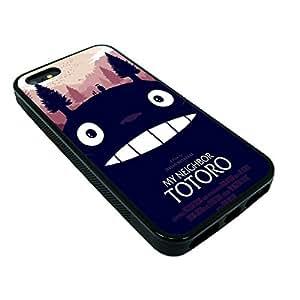 my neighbor totoro v3 iphone 5 5s Rubber TPU case