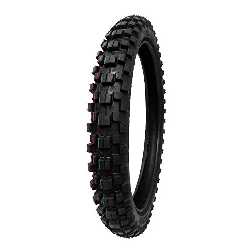 TIRE SET: Front 70/100-17 Rear 90/100-14 Dirt Bike Off Road by MMG (Image #1)