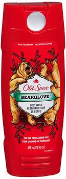 (Old Spice Wild Collection Bodywash, Bearglove 16 oz (Pack of 2))
