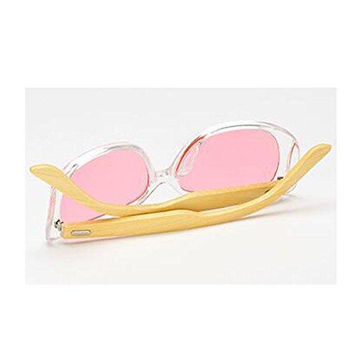 femmes soleil couleur de de pour hommes film et pieds lunettes bambou classique pieds Bamboo soleil lunettes C6 wq4Zgtv