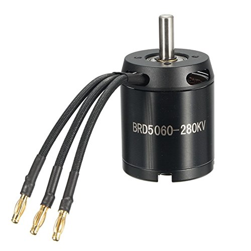 Price comparison product image Quickbuying Racerstar 5060 BRD5060 280KV 4-12S Brushless Motor Electric RC Motor For Balancing Scooter RC Part