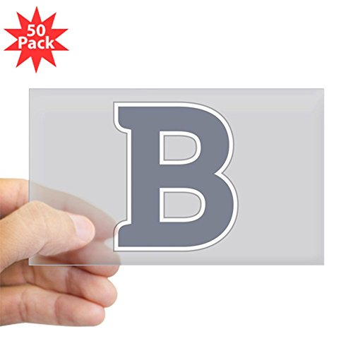 CafePress - Butler University B - Sticker (Rectangle 50 pk) by CafePress