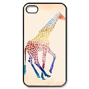 HXYHTY Giraffe 2 Phone Case For Iphone 4/4s [Pattern-3]
