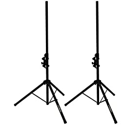 ChromaCast Folding Speaker Stand Pack - Includes 2 Stands