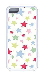 Customized Case Cath kidston TPU White for Apple iPhone 5C
