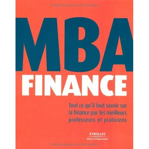 MBA Finance (ED ORGANISATION) (French Edition)