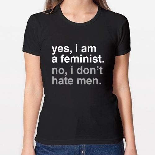 Positivos Camisetas Mujer/Chica - diseño Original Feminismo. Feminista. Feminist 4 - L: Amazon.es: Hogar