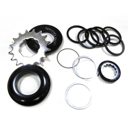 Manufacturing Kit - Wheels Manufacturing One Speed Conversion Set with 16T and Chain Guides