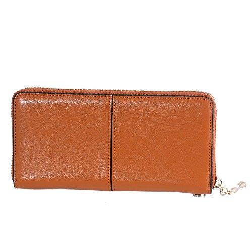 Clutch Wallet Leather Handbag Holder