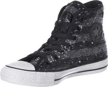 BLACK SILVER Suede Star Leather Sneaker Converse Adulto Unisex Hi SP0xpnwq8