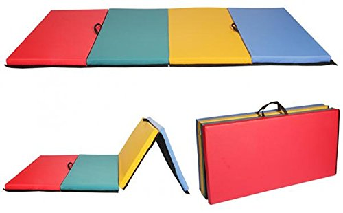 Multi-Color PU- Leather Exercise Pad Folding Panel Thick Gymnastics - Guide Wetsuit Comparison
