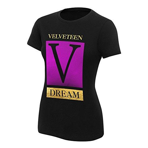 WWE Velveteen Dream NXT Women's Authentic T-Shirt Black XL by WWE Authentic Wear