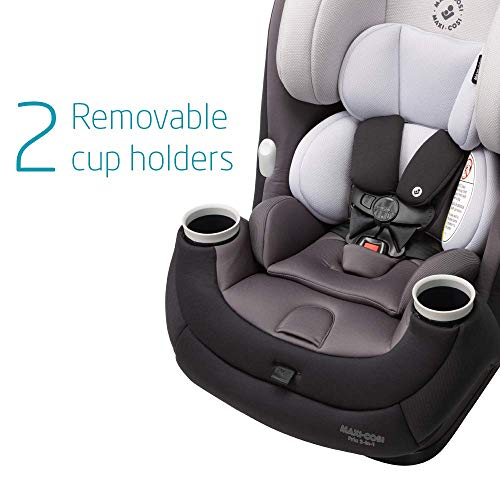 41QLL6YZ8YL - Maxi-Cosi Pria 3-in-1 Convertible Car Seat, Blackened Pearl