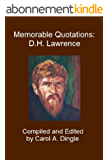 Memorable Quotations: D.H. Lawrence (English Edition)