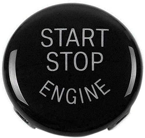 Red+Black+Blut Maxiou Start Stop Button For E Chassis 1 3 5 6 Series X1 X3 X5 X6 Start Stop Button Cap Engine Switch Power Ignition Replacement