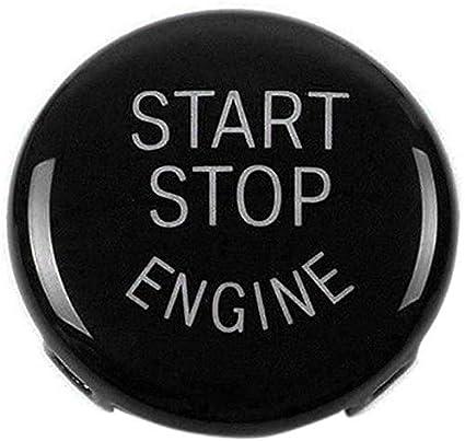 Oferta amazon: XZANTE Reemplazo de La Cubierta del Interruptor de Encendido del Botón de Arranque del Motor de Parada para BMW X1 X3 X5 X6 Z4(E84,E83 Etc) 1 3 5 Series (E87,E90/E91/E92/E93,E60)(Negro)