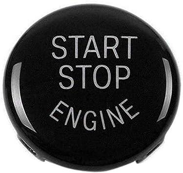 Interruttore di arresto del motore di avviamento del motore Coperchio del pulsante Black