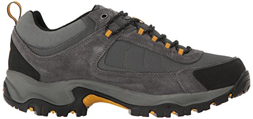 Columbia Men's Granite Ridge Waterproof Hiking Shoe Dark Grey, Golden Yellow
