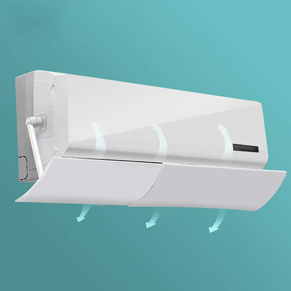 DGSD Adjustable Air Conditioner Deflector Confinement Air Deflector Outlet Wind Direction Telescopic Windshield Vents Sidewall Ceiling Registers for Home