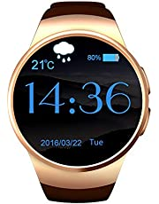 KW18 Smart Watch, MTK2502C  CPU, 1.3-inch, Bluetooth4.0, GSM 900 For iOS Android - Gold