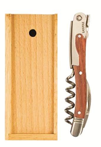Laguiole Waiter's Corkscrew - Rosewood Handle, Wooden Gift Box