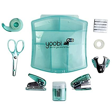 Delicieux Desk Mini Supply Kit Aqua