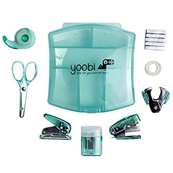 Desk Mini Supply Kit Aqua