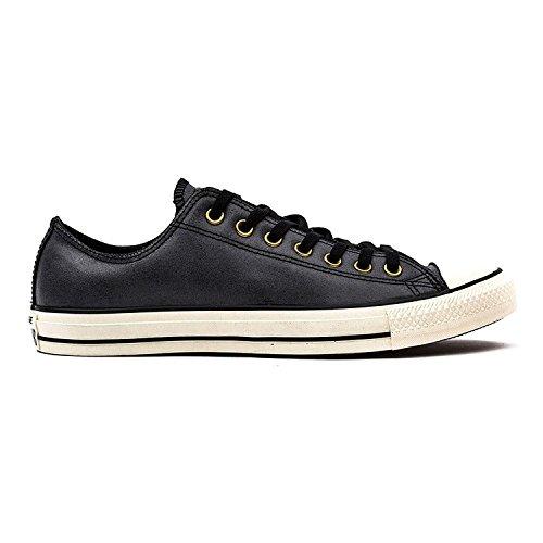 Converse Chuck Taylor All Star Ox, Sneaker unisex per adulti Black/Black/Egret