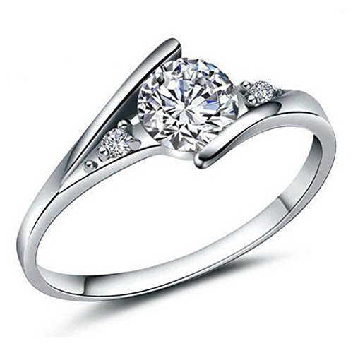Superhai Ring Charm Beautifully Simple Woman Engagement - Catalogue Swiss American